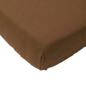 Hoeslakens Jersey Twice as Nice bruin-160/180 x 200 cm