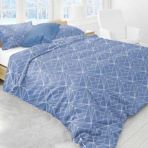 Luxe Flanel Dekbedovertrek 240x220cm Geometrix v2