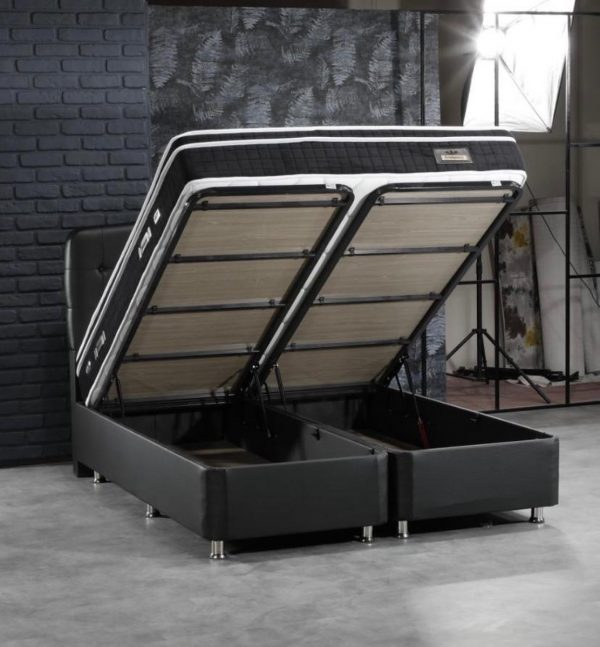 Luxor Boxspring (met opbergruimte) 160x200 cm