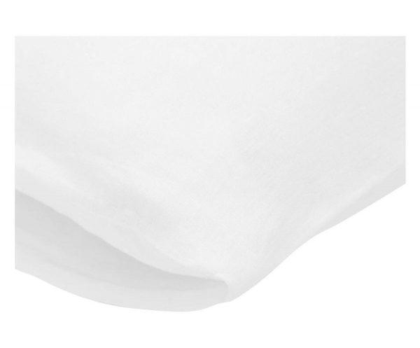 Passion for Linen Luxe dekbedovertrek Maxime 100% linnen, 240 x 220 cm, wit