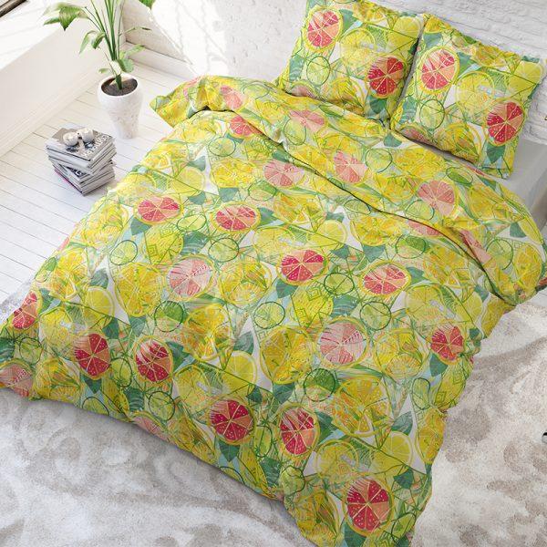 Sleeptime Elegance Fresh Fruits Lits-jumeaux (240 x 220 cm + 2 kussenslopen)