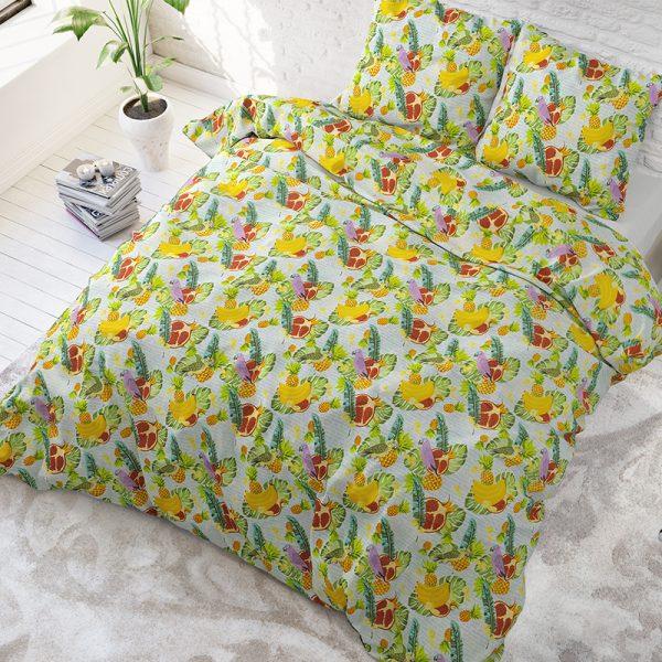 Sleeptime Elegance Fruit Trend Lits-jumeaux (240 x 220 cm + 2 kussenslopen)