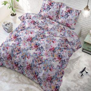 Sleeptime Elegance Lize - Multi Lits-jumeaux (240 x 220 cm + 2 kussenslopen) Dekbedovertrek