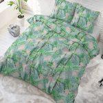 Sleeptime Elegance Palm Jungle Lits-jumeaux (240 x 220 cm + 2 kussenslopen)