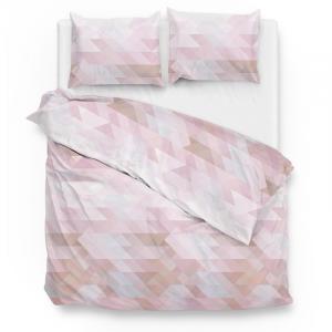 ZoHome Chetan - Roze Lits-jumeaux (240 x 220 cm + 2 kussenslopen) Dekbedovertrek