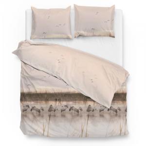 ZoHome Gregor - Creme Lits-jumeaux (240 x 220 cm + 2 kussenslopen) Dekbedovertrek