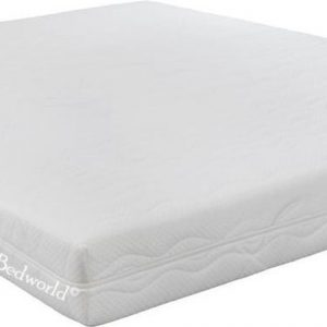 Bedworld Matras 140x220 cm Koudschuim - 2 personen - Gemiddeld Comfort - Matrashoes met rits