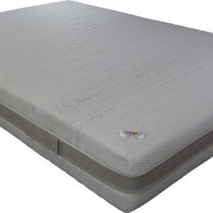 Bedworld Matras 140x220 cm Koudschuim - 2 personen - Stevig Comfort - Matrashoes met rits
