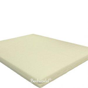 Bedworld Matras 140x220 cm Polyether- 2 personen - Stevig Comfort - Matrashoes met rits