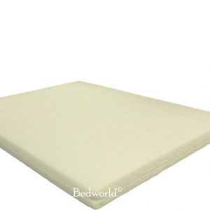 Bedworld Matras 200x210 cm - Matrashoes met rits - Buikslaper - Stevig Ligcomfort - Tweepersoons