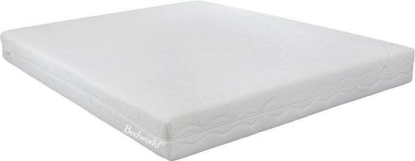 Bedworld Matras 200x210 cm - Matrashoes met rits - Koudschuim - Medium Ligcomfort - Tweepersoons