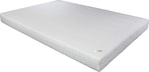 Bedworld Matras 200x210 cm - Matrashoes met rits - Polyether - Stevig Ligcomfort - Tweepersoons