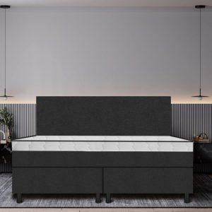 Boxspring De Luxe 180x200 zwart
