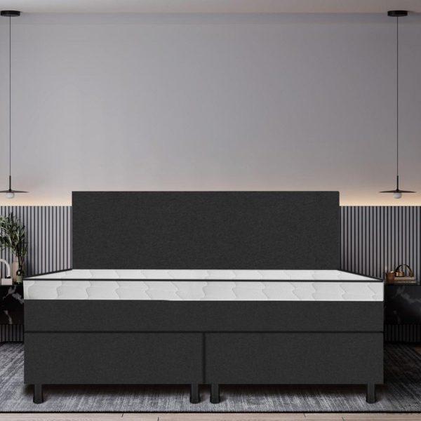Boxspring De Luxe 180x210 zwart