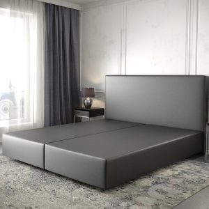 Boxspring frame Dream-Well Zwart 180x200 cm Kunstleder Beddengoed