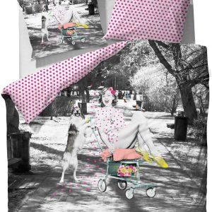 Covers & Co Liz - dekbedovertrek - eenpersoons - 140 x 220 - Multi