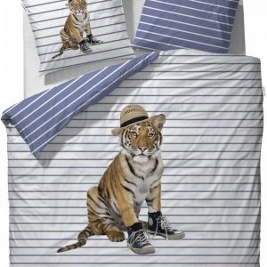Covers & Co Memphis - dekbedovertrek - eenpersoons - 140 x 220 - Wit
