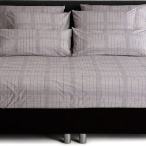 Damai Aeghir Dekbedovertrek - Light Grey - 140 x 200/220 cm
