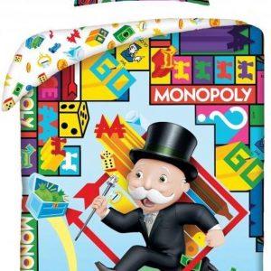 Dekbedovertrek - Monopoly Bordspel 140 x 200 cm 70 x 90 cm kussenloop 100% katoen