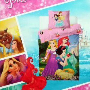 Disney Princess - Dekbedovertrek - Eenpersoons - 140 x 200 cm