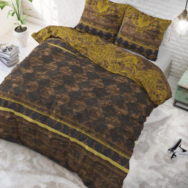 DreamHouse Bedding Elite - Taupe Lits-jumeaux (240 x 220 cm + 2 kussenslopen)