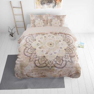 DreamHouse Bedding Jady - Creme Lits-jumeaux (240 x 220 cm + 2 kussenslopen)