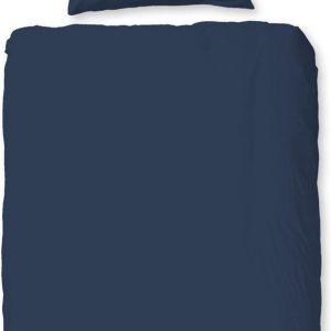 Hip Dekbedovertrek 140 X 220 Cm Satijn Katoen Donkerblauw