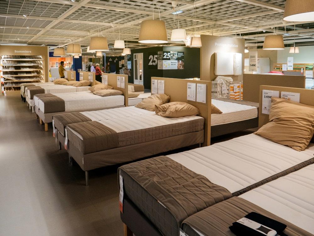 Ikea boxspring matras