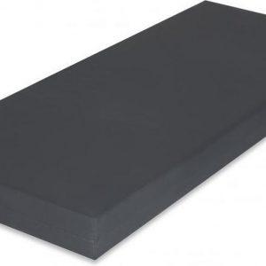 Koudschuim HR60 - Incontinentie - Zorgmatras - Waterdicht - Brandvertragend - 80x200 x 16 cm - Medium - Antraciet