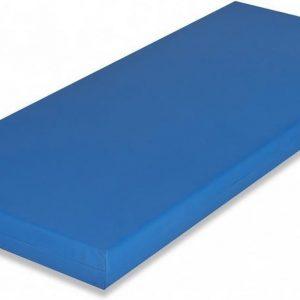 Koudschuim HR60 - Incontinentie - Zorgmatras - Waterdicht - Brandvertragend - 80x200 x 16 cm - Medium - Blauw