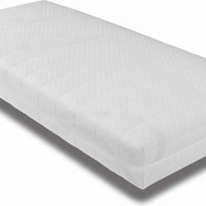 Ledikant Matras 80x200 x10cm koudschuim hybrid matras met anti-allergische wasbare hoes / tijk met rits