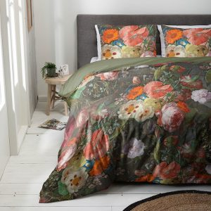 Luna Bedding Artistic Blooms Lits-jumeaux (240 x 220 cm + 2 kussenslopen) Dekbedovertrek