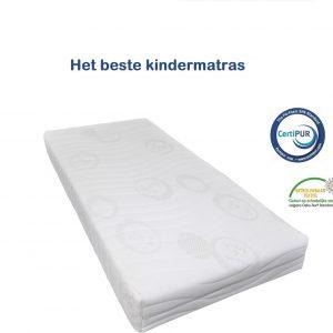 Luxe kindermatras COOLTOUCH - veilig en gecertificeerd - 100dagen proefslapen - 90x200