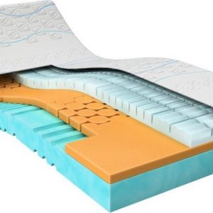 M Line Cool Motion 3 matras 80 x 200, Uitvoering: Standaard - Compleet matras inclusief matrashoes/tijk