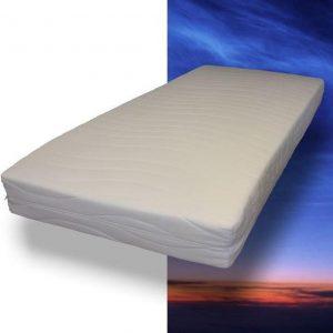 MAH - Pocketvering matras met koudschuim - 120 x 200 x 21 cm - Medium