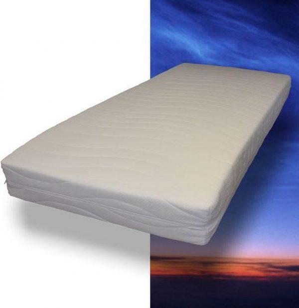 MAH - Pocketvering matras met koudschuim - 80 x 200 x 21 cm - Medium