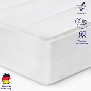 Matras 120x200 cm - Koudschuim - Microvezel Tijk - Gemiddeld - Bed Matras