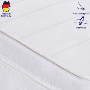 Matras 90x200 cm - Koudschuim - Microvezel Tijk - Gemiddeld - Bed Matras
