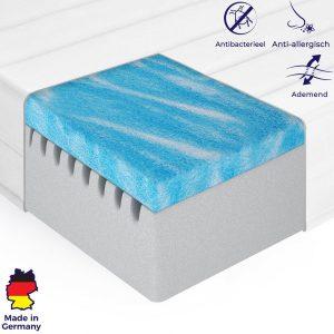 Matras - 90x200 - koudschuim - gel - microvezel