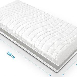 Matras Optimum - pocketvering matras - 90x200 - 24 cm dik