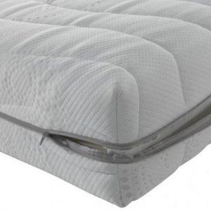 Matras Pocketvering Cooltouch - Luxe pocketvering matras heeft 7 zones - hoogwaardig HR koudschuim - 80x200