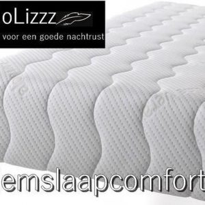 NoLizzz®- 1-Persoons Matras - MICRO POCKET 500 NASA 7 ZONE 21 CM - Fabrieksprijs - 80x200/21
