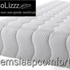 NoLizzz®- 1-Persoons Matras - POCKET HR45 KOUDSCHUIM/NASA 7 ZONE 25 CM - Fabrieksprijs - 80x200/25