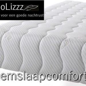 NoLizzz®- 1-Persoons Matras -POCKET HYBRID 7 ZONE 21 CM - Fabrieksprijs - 80x200/21