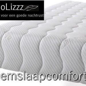 NoLizzz®- 1-Persoons Matras - POCKET NASA 7 ZONE 21 CM - Fabrieksprijs - 80x200/21
