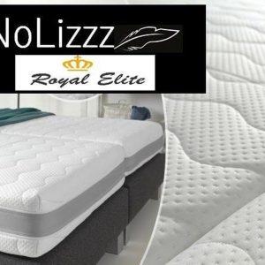 NoLizzz®- NoLizzz - 1-Persoons Matras - Micro Pocket 500 HR/NASA 3d 4-Seizoenen Bamboo biez + handvaten 25 CM - Fabrieksprijs - 80x200/25