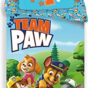 Paw Patrol Team Paw! dekbedovertrek - 140 x 200 cm - kussensloop 70 x 90 cm
