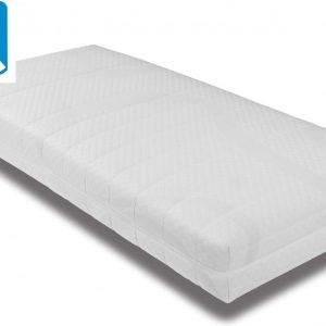Rustmatras Pocketvering Matras 90x200 - 7 zones - 21 cm hoog / Inclusief anti allergische wasbare tijk met huisstofmijt bescherming