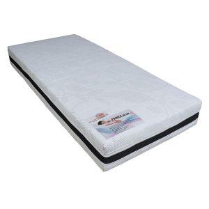 Slaaploods.nl Prince de Luxe® - 80x200 cm - Pocketvering Matras met Koudschuim - Medium - 25 cm dik