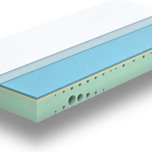 Sleeptech One matras 80x200 Hybrid/Nasa/Gel circa 20 cm